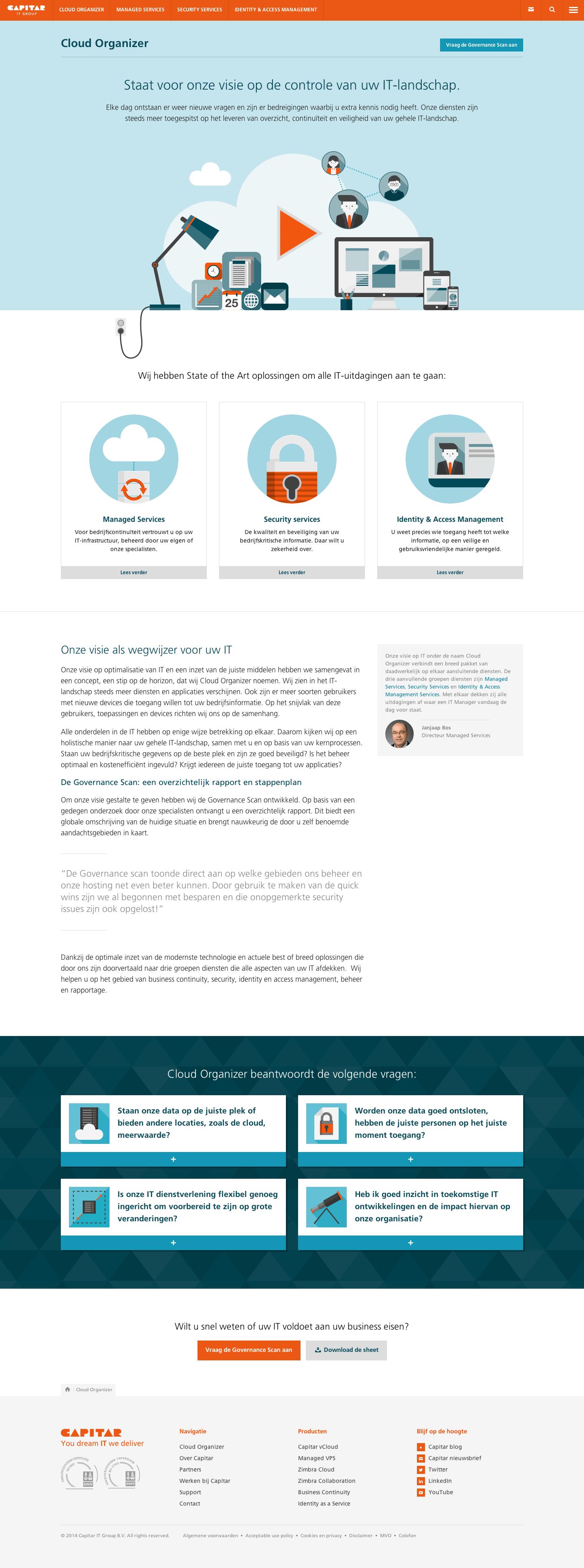 Capitar website
